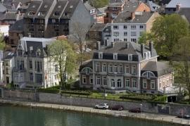 L'Elysette siège du Gouvernement wallon. Ce bâtiment fut édifié en 1877 par le maître-tanneur Xavier Thibault.