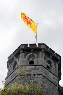Vue de la tour de guet à la citadelle de Namur