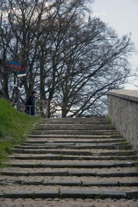 Escaliers menant à la citadelle de Namur