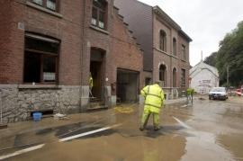 Inondation de la ville de ITTRE
