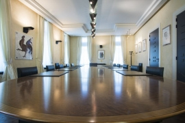 Salle de réunion du conseil des ministres à la présidence du Gouvernement wallon (Elysette)