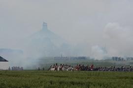 1815 - 2015 : bicentenaire de la bataille de Waterloo. Reconstitution des Combats