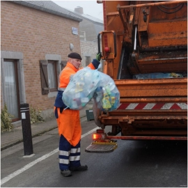 Ramassage des déchets/Poubelle