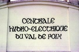 centrale hydro-électrique du Val De Poix