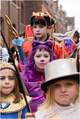 Carnaval de BINCHE 2017