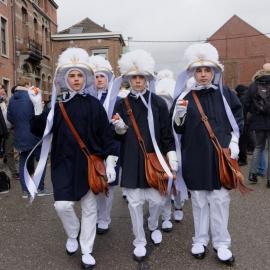 Carnaval- Gilles de Binche 2017