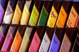 La chocolaterie Galler (créé en 1976)réputée pour sa large gamme de bâtons de chocolat.