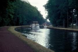 Le canal du centre et ses ouvrages d'art exceptionnel au niveau mondial, ils sont classés au Patrimoine de l'Humanité par l'UNESCOdepuis 1998.