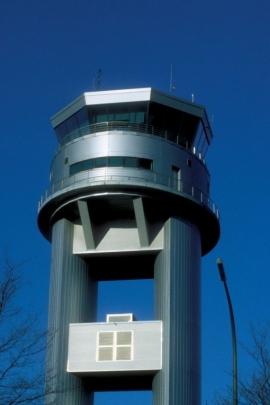Tour de contrôle, Liège Airport.