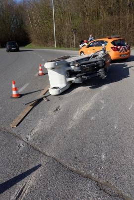 Accident de la route.