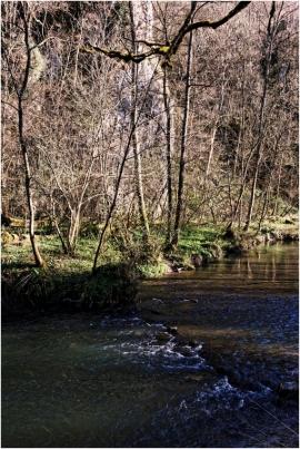 Vallée de la Molignée.La Molignée a donné son nom à une charmante vallée boisée qui compte de nombreuses curiosités liées au riche patrimoine de la région et autres attractions touristiques comme le château de Montaigle, le château-ferme de Falaën, les abbayes de Maredsous et de Maredret, l'ancien château d'Ermeton-sur-Biert reconverti en couvent, la villa des Lapins, les draisines de la Molignée.