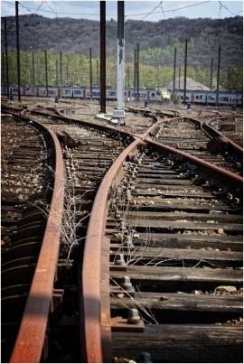 Site ferroviaire SNCB de Ronet. Gare de triage