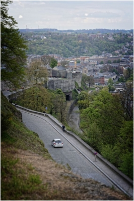 Rallye de Wallonie 2017. Citadelle de Namur.
