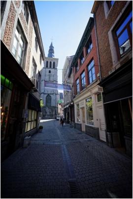 Vieux Namur, église Saint-Jean-Baptiste.