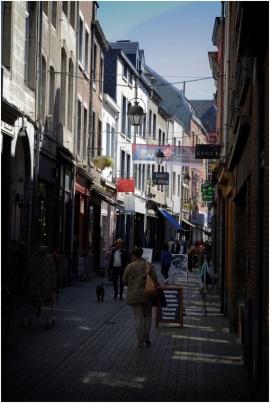 Les ruelles du vieux Namur.
