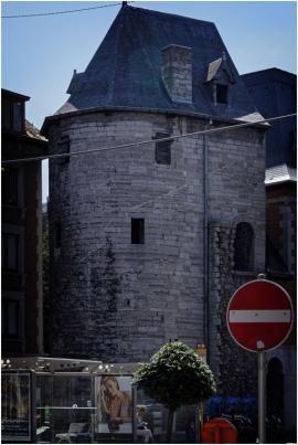 Namur. La tour Marie-Spilar.