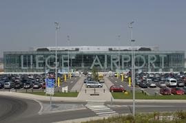 Liège Airport.