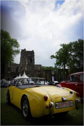 5 ième Rallye-Balade de Villers-la-Ville pourautomobileet véhicules ancêtres.