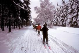Piste de skide la Baraque Michel