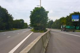 Autoroute E42.