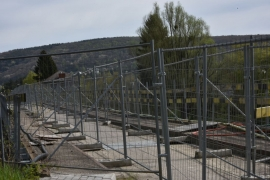 Reconstruction du pont de Godinne.Fin des travaux prévue au printemps 2018