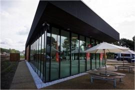 Maison de Wallonie, aire d'autoroute d'Hensies.
