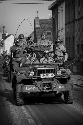 Tanks in town 2017, Commémoration de la libération de la ville de Mons en 1944.
