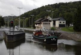 Barrage-écluse de Houx(Anhée)