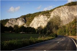 Les rochers à Waulsort (Hastière).