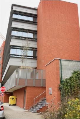 Bâtiment du SPW abritant les services de la formation du personnel et de la sélection, boulevard Cauchy, 47 à Namur.
