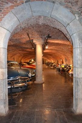 Musée du circuit de Spa-Francorchamps à l'abbaye de Stavelot.