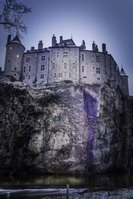 Le château de Walzin.