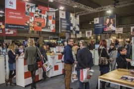 Présence du Service public de Wallonie (SPW) au Salon des mandataires à Marche-en-Famenne en février 2018.