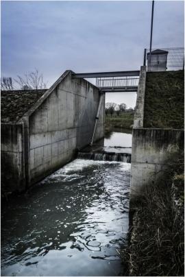 Zone d'immersion temporaire à Jodoigne (en cas de crue ou d'inondation).