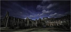 Les ruines de l'abbaye à Villers-la-Ville