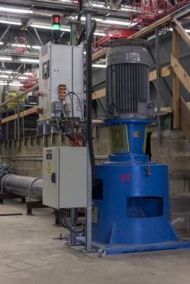 Le laboratoire de Châtelet dépendant de la Direction générale des Voies hydrauliques (DGO2) du Service public de Wallonie (SPW).