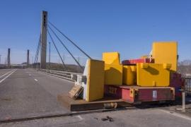 Le pont de Lixhe (Visé).