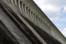 Barrage de la Plate Taille à Boussu-lez-Walcourt.