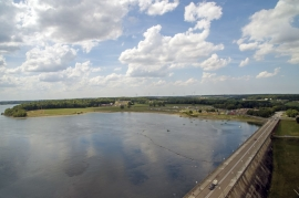 Barrage de la Plate Taille (Boussu-lez-Walcourt).