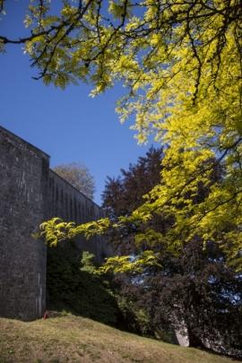 Pied de la citadelle de Namur