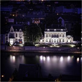 L'Elysette (le bâtiment abrite les bureaux du ministre-président du gouvernement wallon ainsi sa résidence de fonction).