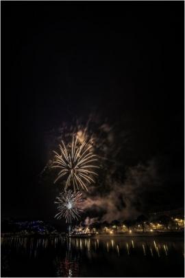 Feu d'artifice de la Saint-Sylvestre 2018, Namur