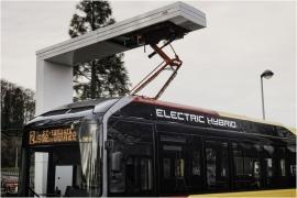 Recharge d'un bus hybride - TEC