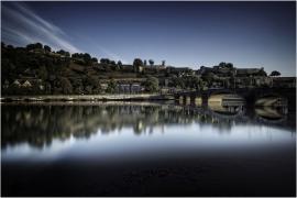 Vue sur la Citadelle de Namur et du Pont de Jambes.