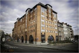 Bâtiment du Service public de Wallonie (logement, aménagement du territoire, environnement,...) à Charleroi, rue de l'Écluse 22