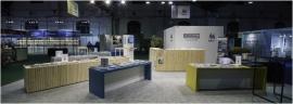 Stand des Éditions du Service public de Wallonie (EDIWALL) à la Foire du livre (2020).