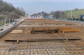 Bassenge chantier viaduc