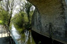 Le long du Canal de l'Ourthe
