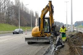 E40 chantier Hognoul Waremme