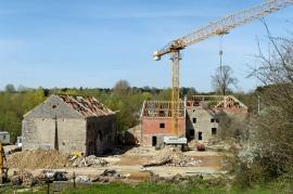rénovation d'une habitation à Fernelmont